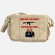Funny Assault rifle Messenger Bag