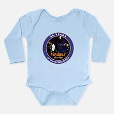 Voyager At 40! Long Sleeve Infant Bodysuit