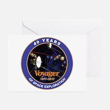 Voyager At 40! Greeting Cards (Pk of 10)