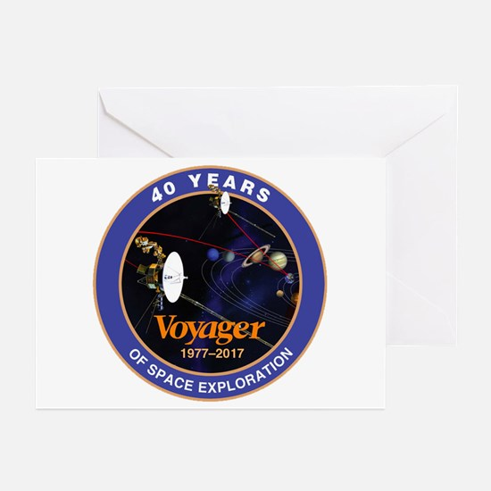 Voyager At 40! Greeting Cards (Pk of 10)