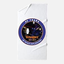 Voyager At 40! Beach Towel