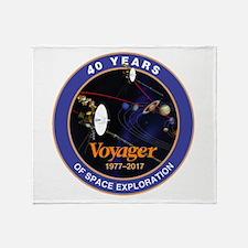 Voyager At 40! Throw Blanket