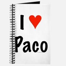 I love Paco Journal