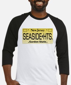 Seaside Heights NJ Tag Apparel Baseball Jersey