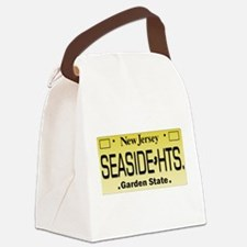Seaside Heights NJ Tag Giftware Canvas Lunch Bag