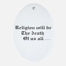 Religion Oval Ornament