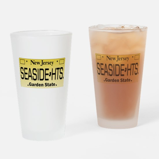 Seaside Heights NJ Tag Giftware Drinking Glass