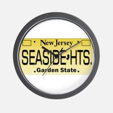 Seaside Heights NJ Tag Giftware Wall Clock