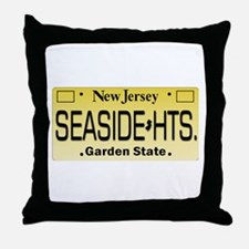 Seaside Heights NJ Tag Giftware Throw Pillow