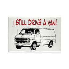 I STILL DRIVE A VAN! Rectangle Magnet (10 pack)