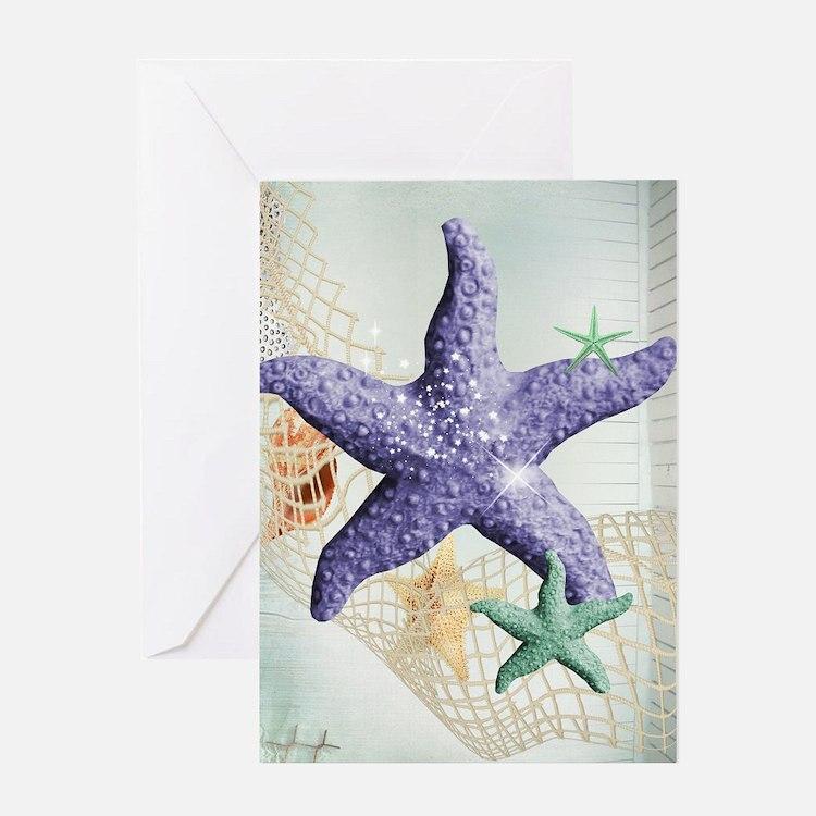 Beach Treasure of The Sea Greeting Cards