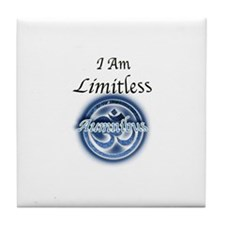 I am Limitless Tile Coaster