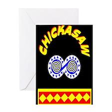 CHICKASAW INDIAN Greeting Card