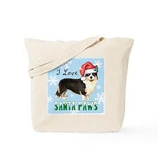 Holiday Corgi Tote Bag