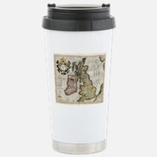 Unique British isles Travel Mug