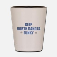Minot north dakota Shot Glass