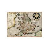 Vintage map 5x7 Rugs