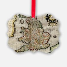 Cute England Ornament