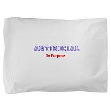 AntiSocial Pillow Sham