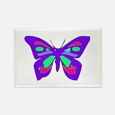 Pretty Butterfly Rectangle Magnet