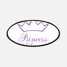 Purple Princess Crown Patch