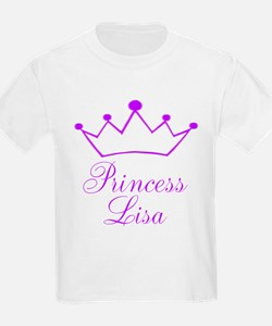 Purple Princess Crown T-Shirt