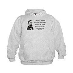Henry David Thoreau 34 Hoodie