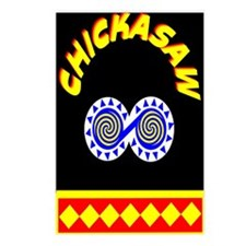 CHICKASAW INDIAN Postcards (Package of 8)