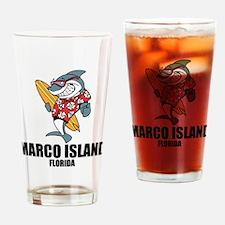 Marco Island, Florida Drinking Glass