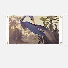 Louisiana Heron Banner