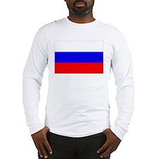 Russian Flag Long Sleeve T-Shirt