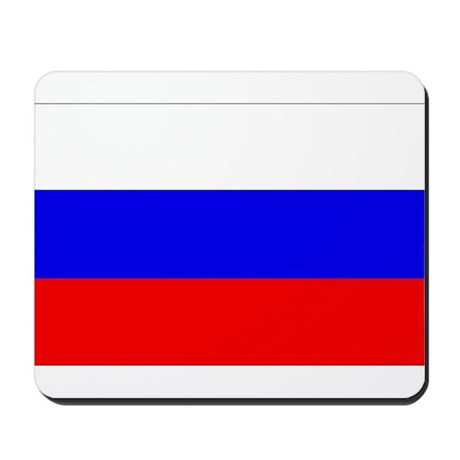 Russian Flag Mousepad