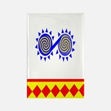 CHICKASAW INDIAN Rectangle Magnet