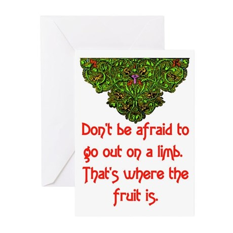 OUT ON A LIMB Greeting Cards (Pk of 20)