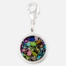 Colorful Multi-Skulls Charms