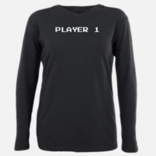 PLAYER 1 Plus Size Long Sleeve Tee