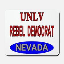 UNLV Rebel Democrat Mousepad