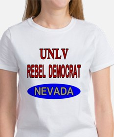 UNLV Rebel Democrat Women's T-Shirt