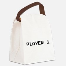 PLAYER 1 Canvas Lunch Bag