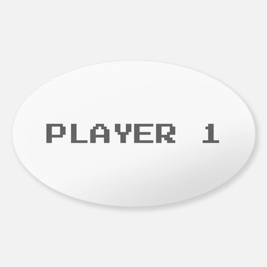 PLAYER 1 Decal