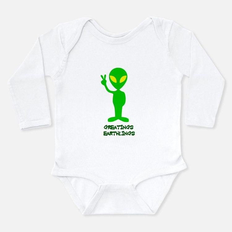 Greetings Earthlings Body Suit