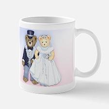 Bride and Groom Teddybears Mugs