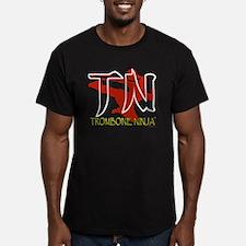 Trombone Ninja-Transparent T-Shirt