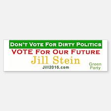 Unique Jill stein Sticker (Bumper)