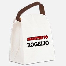 Addicted to Rogelio Canvas Lunch Bag