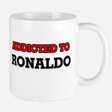 Addicted to Ronaldo Mugs