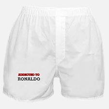 Addicted to Ronaldo Boxer Shorts