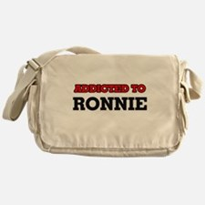 Addicted to Ronnie Messenger Bag