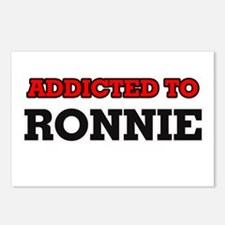 Addicted to Ronnie Postcards (Package of 8)