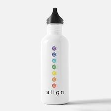 Unique Body mind soul Water Bottle